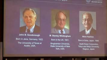 video: gebürtiger deutscher gewinnt chemie-nobelpreis