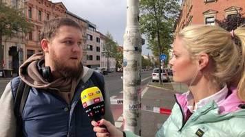 Angst in Halle: Augenzeuge berichtet von Schüssen auf Dönerladen: Der Mann hinter mir muss wohl verstorben sein