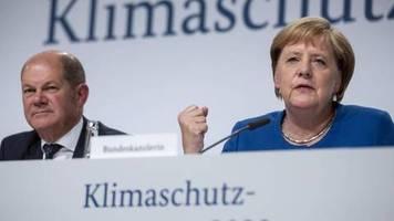 Was passiert wann?: Kabinett soll Klimaschutzplan für das Jahr 2030 beschließen