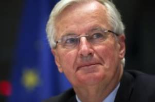 Deal in letzter Minute?: Barnier zum Brexit-Streit: Einigung immer noch möglich