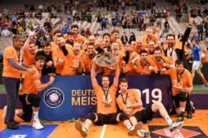 Volleyball: Die Volleys wollen alle drei Titel in Deutschland
