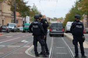 Kriminalität: Schüsse in Halle: mehr Schutzkräfte in Hamburg im Einsatz