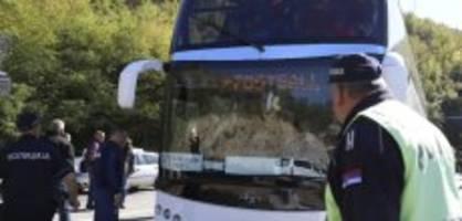 cup-wettbewerb: roter stern wird einreise in kosovo verweigert