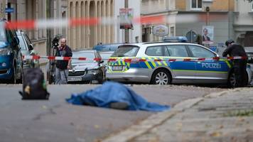 Schüsse auch in Landsberg: Zwei Menschen in Halle erschossen - erste Festnahme
