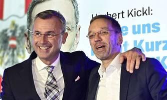 Kickl verdrängt Hofer vom ersten FPÖ-Listenplatz