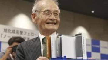 chemie-nobelpreis: grundstein für wiederaufladbare welt