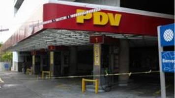 versorgungskrise - kein Öl mehr aus venezuela