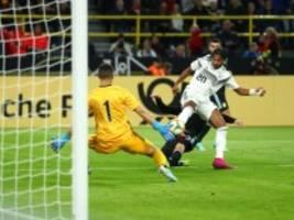 Länderspiel in Dortmund: Deutschland vergibt Sieg gegen Argentinien
