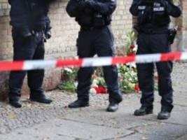 Angriff auf Synagoge: Ermittler durchsuchen Wohnung des Tatverdächtigen von Halle