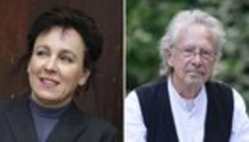 Literaturnobelpreise: Olga Tokarczuk und Peter Handke mit Nobelpreis ausgezeichnet
