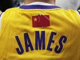 hongkong spaltet nba und china: trump pöbelt, basketballer schweigen