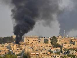 Syrien-Offensive gegen Miliz: Erdogans Truppen belagern zwei Städte