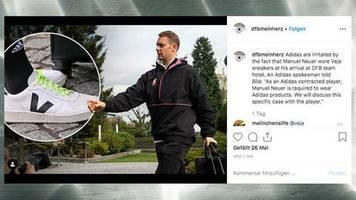 Fußball: Öko-Sneaker statt Markenschuh: Darum hat Manuel Neuer Stress mit Adidas