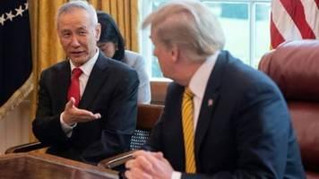 Trump will sich direkt in Handelsgespräche mit China einschalten