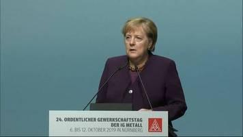 Bundeskanzlerin: Angela Merkel zum Anschlag von Halle: Wir müssen den Anfängen wehren