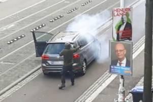 Gewalttat: Terroranschlag von Halle – Ein Protokoll des Tathergangs