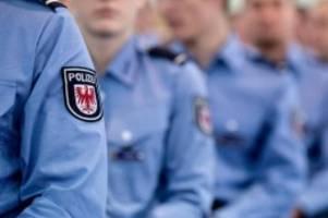 Regierung: Rot-Schwarz-Grün: 8500 Polizisten für Brandenburg angepeilt