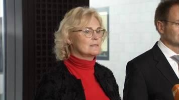 video: christine lambrecht: rechtsextremismus eine der größten bedrohungen, der wir uns gegenüber sehen