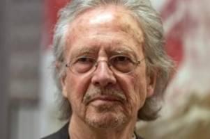 Auszeichnung: Literaturnobelpreise für Peter Handke und Olga Tokarczuk