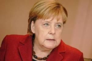 Gute Wete für Merkel: ARD-Deutschlandtrend: Union und Grüne legen leicht zu