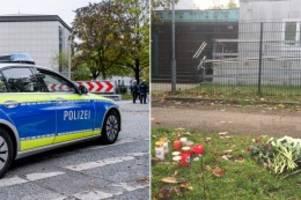Hamburg: Nach Anschlag in Halle: Blumen und Kerzen vor Synagoge