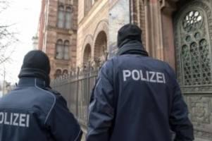 Kriminalität: Auch Polizei im Norden reagiert auf Anschlag von Halle