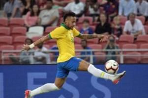 Remis gegen Senegal: Brasiliens Superstar Neymar absolviert 100. Länderspiel