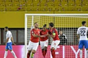 EM-Qualifikation: Österreich siegt gegen Israel und Herzog