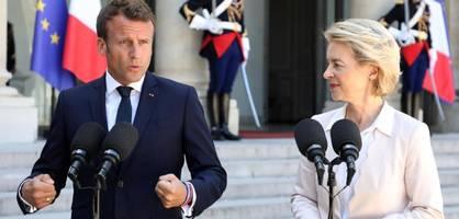Macron macht von der Leyen für Goulards Scheitern verantwortlich