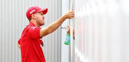 Plötzlich schlägt Vettel im Ferrari-Streit leise Töne an