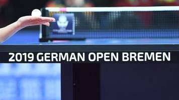 Erstrunden-Aus für Ovtcharov bei German Open im Tischtennis