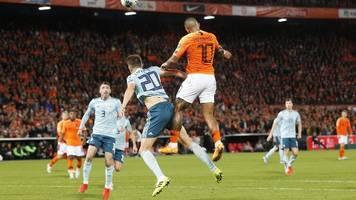 Wahnsinn in Rotterdam: Holland siegt dank Last-Minute-Toren