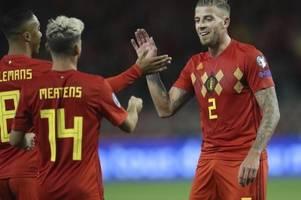 Belgien als erstes Team für EM 2020 qualifiziert