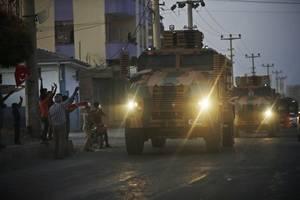 Offensive gegen Kurden - Weltweites Entsetzen über Erdogans Syrien-Attacke