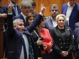 Rumänien: Regierung per Misstrauensvotum abgewählt
