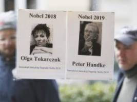 leserdiskussion: literaturnobelpreis für handke und tokarczuk - eine gute wahl?