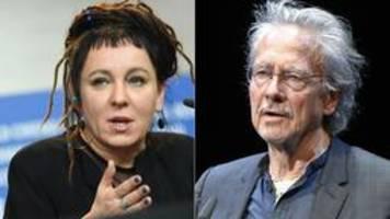 Literatur-Nobelpreise für Peter Handke und Olga Tokarczuk