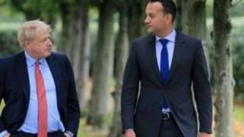 Varadkar trifft Johnson: Hoffnungsschimmer im Brexit-Streit