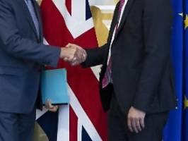 Chance im Brexit-Streit: EU und Briten starten neue Verhandlungen