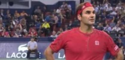 11. Oktober 2019: Wütender Federer und weitere News des Tages