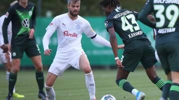 Holstein Kiel ringt Europa-League-Teilnehmer Wolfsburg ein 1:1 im Testspiel ab