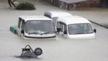 Taifun Hagibis: Mindestens zwei Tote durch Wirbelsturm in Japan