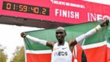 Wien: Eliud Kipchoge läuft Marathon unter zwei Stunden