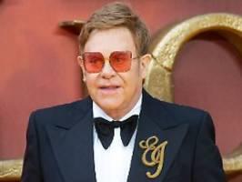 Popstar glaubt an Geister: Bei Elton John spukt es