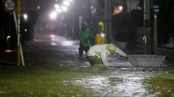 News von heute: Mindestens zwei Tote durch Taifun Hagibis in Japan