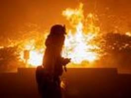 Tausende auf der Flucht vor Waldbränden in Kalifornien