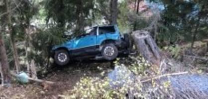 Susten VS: Auto überschlägt sich - 19-jähriger Lenker stirbt