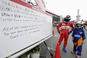 Taifun Hagibis zwingt Formel 1 in Japan zum Stillstand