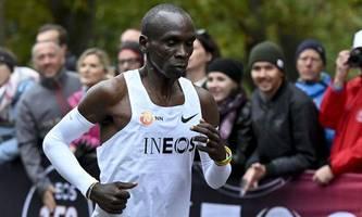 Eliud Kipchoge schafft den Weltrekord im Wiener Prater