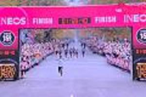 41 Tempomacher halfen ihm - Rekordhalter Kipchoge läuft Marathon unter zwei Stunden und sorgt für Novum